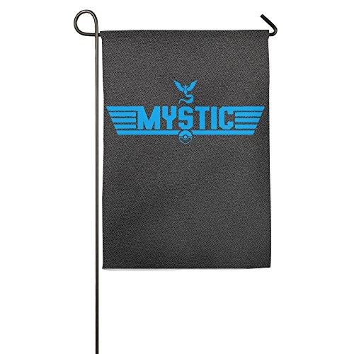Pokemon Go Team Mystic Pokeball Logo House Flags Garden Flag (2 Size)