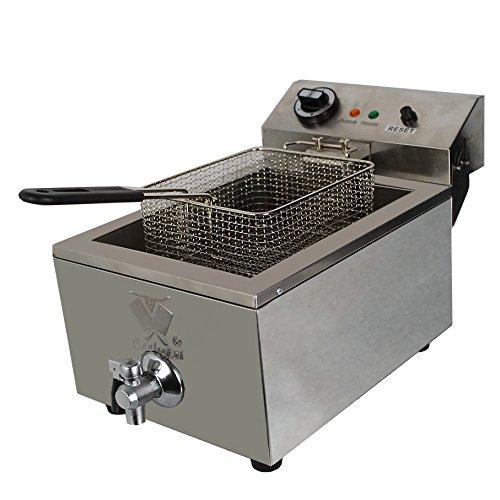 Beeketal-BTF10B-Kaltzonen-Fritteuse-10-Liter-Volumen-fr-max-6-Liter-l-Edelstahl-Friteuse-mit-Temperaturkontrolle-und-Fettablaufhahn-Basic-Serie