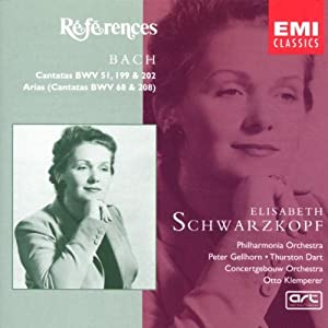 Bach: Cantatas and Cantata Arias by Références