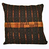 Laura Luna Textiles LL24-167 Ixil Pillow, 18-Inch by 18-Inch
