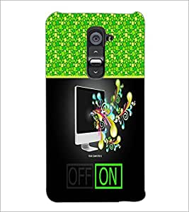 PrintDhaba Abstract Image D-4258 Back Case Cover for LG G2 (Multi-Coloured)