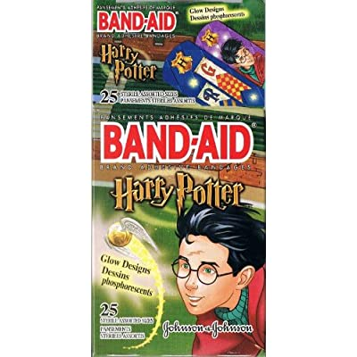 Amazon.com: Harry Potter Glow-in-the-Dark Band-Aids By