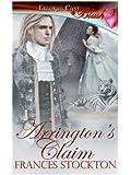 Arrington's Claim (Panthera, Book Four)