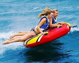 Buy Aquaglide Spitfire Package Towable Ski Tube by Aquaglide