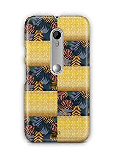 YuBingo Colourful Pattern Mobile Case Back Cover for Motorola G3 Turbo