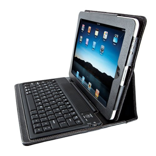 Kensington Keyfolio Bluetooth Keyboard And Case For Ipad 1, K39294Us (Black)