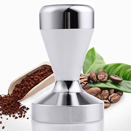 Ambox Stainless Steel Coffee Tamper Barista Espresso Tamper 51mm Base Coffee Bean Press (Espresso Tamper Box compare prices)