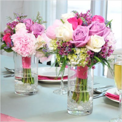 Flower Bouquet Reception Vase