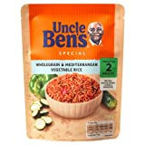 Uncle Ben's Express Wholegrain Rice with Mediterranean Vegetables 4x250g