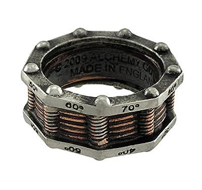 Hi Voltage Generator Steampunk Ring
