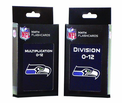 NFL Seattle Seahawks Multiplication and Division Flash Cards at Amazon.com