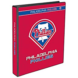 C.R. Gibson 3-Ring Binder, Philadelphia Phillies (M916814WM)