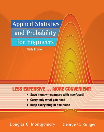 Applied Statistics and Probability for Engineers, 5th...