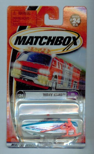 Matchbox 2001-24/75 Sun Chasers Wave King 1:64 Scale - 1