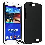 Ownstyle4you Cover Copertina Custodia Case in Nero per il Huawei Ascend G7 incluso pellicola di protezione schermo...