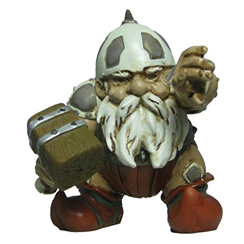 Garden Battle Gnome with Hammer 4