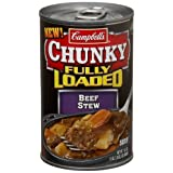 Campbell's Chunky Fully Loaded Beef Stew, 18.8-Ounce Packages (Pack of 12) ~ Campbell's