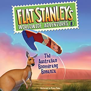 Flat Stanley's Worldwide Adventures, #8 Audiobook