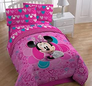 Disney Minnie Mouse Bow-tique Twin Sheet Set at Sears.com