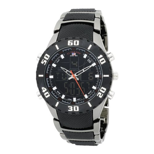 U.S. Polo Assn. Men's US8163EXL Analog-Digital