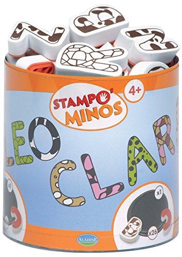 Aladine - Stampo Minos, diseño letras mayúsculas (ALTP85111)