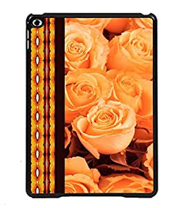 Printvisa 2D Printed Flower Designer back case cover for Apple iPad Air 2 - D4325