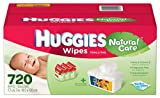 Huggies Natural Care Baby Wipes - 720ct