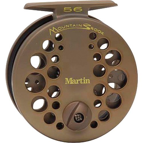 Martin Fly Fishing Mountain Brook Fly Reel with Fly Pack (Size 5/6)