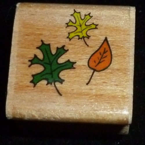 Tiny Leaves Rubber Stamp