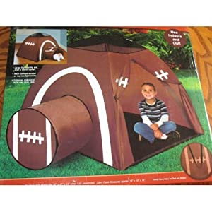 j s n y all star football indoor outdoor pop up tent sports outdoors. Black Bedroom Furniture Sets. Home Design Ideas