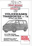 Volkswagen Transporter T4, 2.0 Litre Petrol, 1.9 and 2.4 Litre Diesel, to end of 1995 by Russek, Peter published by Peter Russek Publications Ltd (1992)