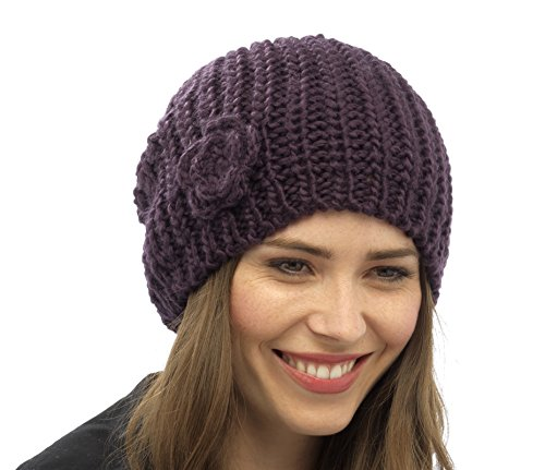 RJM Tom Franks Ladies Knitted Beanie Hat  Knitted