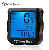 INBIKE Waterproof Digital Backlight Bicycle Computer Odometer Speedometer Clock Stopwatch Bike Computer Bicycle Accessories INBIKE