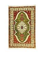 Eden Carpets Alfombra Atzeri Rojo/Verde/Beige 302 x 196 cm