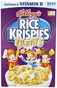 Rice Krispies Treats Rice Cereal, 14.2-Ounce (Pack of 3)