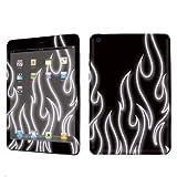 Buy Apple iPad Mini Decal Vinyl Skin Grey Neon Flames By SkinGuardz