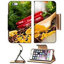 buy Msd Premium Apple Iphone 6 Plus Iphone 6S Plus Flip Pu Leather Wallet Case Chilli Herbs And Spices Lie On A Wooden Surface Still Life Image Id 23526264