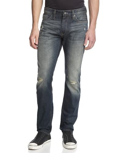 Mavi Men's Jake Slim Fit Ripped Jean