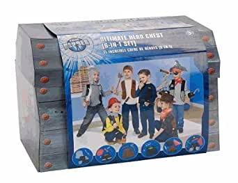 BOYS TRUE HEROES ULTIMATE HERO CHEST DRESS UP TRUNK - (6 IN 1 SET) TOYS R US EXCLUSIVE!