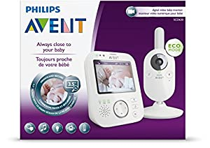 Philips AVENT SCD630/37 Video Baby Monitor with FHSS