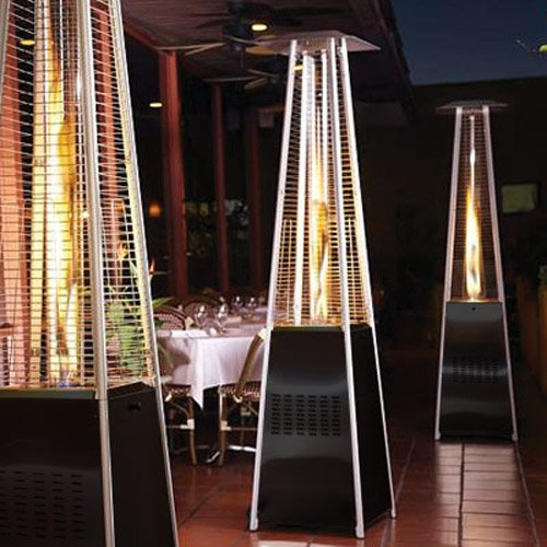 Garden-Radiance-GRP4000BK-Dancing-Flames-Pyramid-Outdoor-Patio-Heater-with-Black-Base
