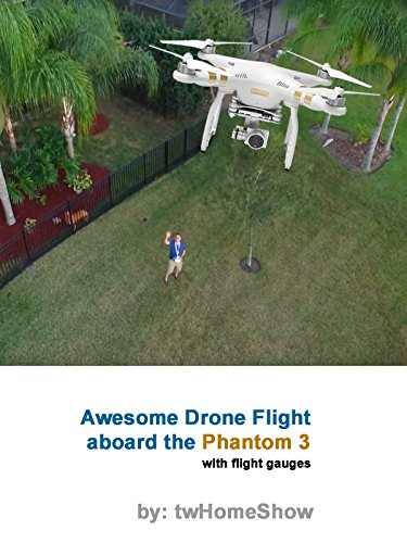 Awesome Drone Flight aboard the Phantom 3 on Amazon Prime Video UK