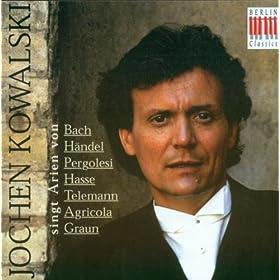 Vocal Recital: Kowalski, Jochen - Telemann, G.P. / Graun, C.H. / Agricola, J. / Hasse, J.A. / Pergolesi, G.B. / Bach, J.S. / Handel, G.F.