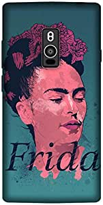 The Racoon Grip printed designer hard back mobile phone case cover for OnePlus 2. (Frida Kahl)