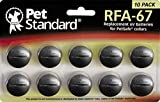 PetStandard Replacement Batteries for PetSafe RFA-67 (Pack of 10)