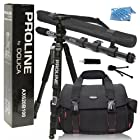 Dolica AX620B100 62-Inch Proline Tripod and Ball Head + Dolica WT-1003 67-Inch Lightweight Monopod + Dolica GS-300 Professional Camera Shoulder Case Everything You Need Combo Kit for Nikon D610 D7100 DF