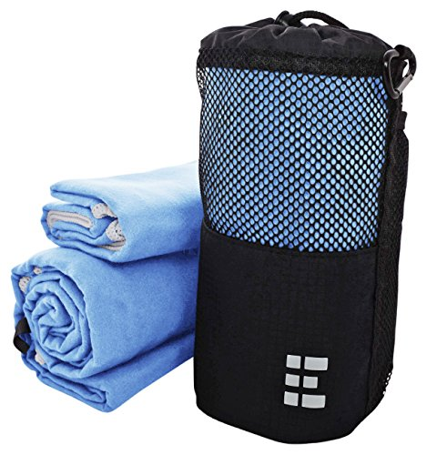 Zero Grid Travel Towel - Quick Dry Microfiber - Backpacking & Camping Set, XL (Sky Blue) (Bcg Cleaner compare prices)