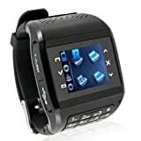 Q8 Dual Sim Card Dual Standby Watch Cell Phone Mobile Quad Band Touch Screen Mp3/4 with Keypad