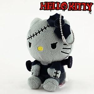 Sanrio Hello Kitty Monster Collection Plush Doll Ball Chain (Frankenstein)