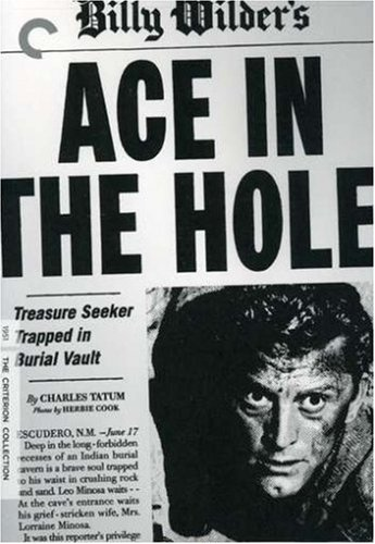 Cover art for  Ace in the Hole (The Criterion Collection)